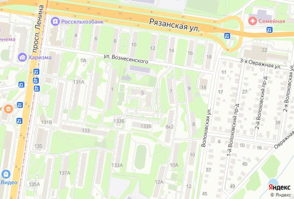 жилой комплекс по ул. Вознесенского