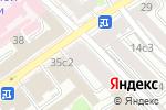 Схема проезда до компании Молодежный в Москве