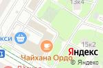 Схема проезда до компании ПрезиДЕНТ в Москве