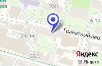 Схема проезда до компании ПАЛАТА РЕМЕСЕЛ в Москве