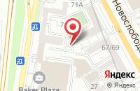 Схема проезда до компании Шоколандия в Москве