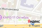 Схема проезда до компании Банк Российский Кредит в Москве