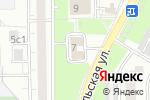 Схема проезда до компании Фотоцентр на Каргопольской в Москве