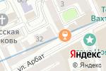 Схема проезда до компании Ломбард 32 в Москве