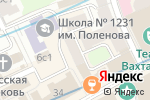 Схема проезда до компании Золотой Арбат в Москве