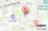 Схема проезда до компании Лайн Прожект в Москве