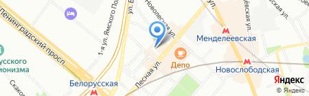 Техника молодежи на карте Москвы