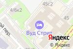 Схема проезда до компании Департамент Профессиональной Оценки в Москве