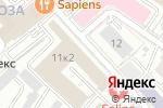 Схема проезда до компании Хамовники в Москве