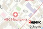 Схема проезда до компании Мебельная Гармония в Москве