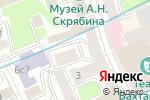 Схема проезда до компании В и В в Москве