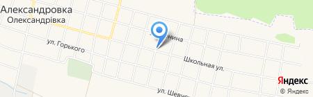 Продовольственный магазин на карте Старомихайловки