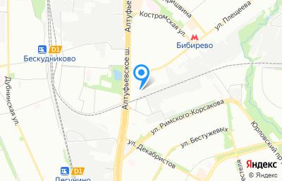 Местоположение на карте пункта техосмотра по адресу г Москва, ш Алтуфьевское, д 48 к 3