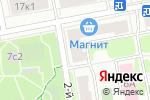 Схема проезда до компании ЭКО-ПОЛ в Москве