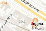 Схема проезда до компании Распутин в Москве