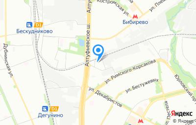 Местоположение на карте пункта техосмотра по адресу г Москва, проезд Высоковольтный, д 1 стр 8