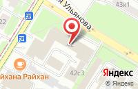 Схема проезда до компании М1-Капитал в Москве