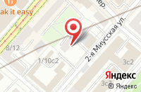 Схема проезда до компании Ника Консалт в Москве