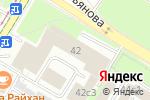 Схема проезда до компании Malina.std в Москве