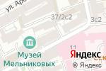 Схема проезда до компании ALEVTINA АGILIERE в Москве