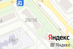 Схема проезда до компании Детский лес в Москве
