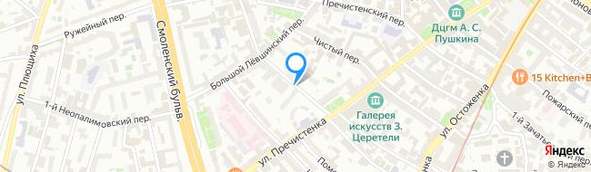 Малый Лёвшинский переулок