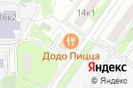 Схема проезда до компании Магазин бытовой химии на Одесской в Москве