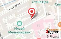 Схема проезда до компании Антексъ-Груп в Москве