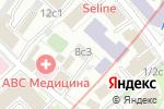 Схема проезда до компании Power-Style в Москве
