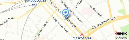 The 60`s на карте Москвы