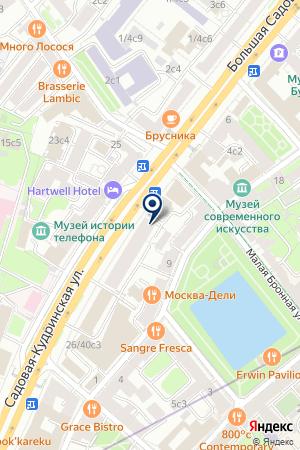 ЮРИДИЧЕСКАЯ ФИРМА ТАРАТУТТА И ПАРТНЕРЫ на карте Москвы