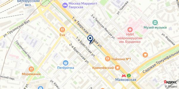 Lighthouse Apartments на карте Москве