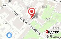 Схема проезда до компании Новая Графика в Москве