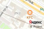 Схема проезда до компании Ваби Саби в Москве