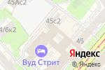 Схема проезда до компании Дивные окна в Москве