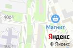 Схема проезда до компании СервисМоби в Москве