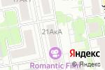 Схема проезда до компании Дева в Москве