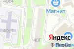 Схема проезда до компании Медовый терем в Москве