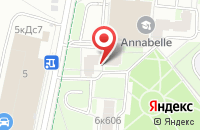 Схема проезда до компании Мва в Москве