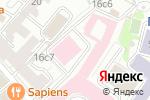 Схема проезда до компании Mendeleev в Москве