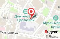 Схема проезда до компании Городские Технологии в Москве