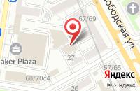 Схема проезда до компании Континенталь Групп в Москве