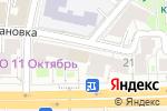Схема проезда до компании Yes nail в Москве