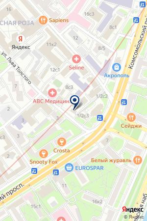 Московский центр правовой защиты на карте Москвы