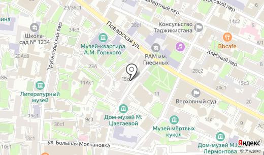 Кворум. Схема проезда в Москве
