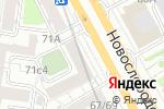 Схема проезда до компании Vape-season в Москве