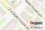 Схема проезда до компании Московская государственная экспертиза в Москве
