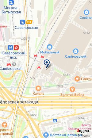 ИНФОРМАЦИОННЫЙ ЦЕНТР ПЕРСОНИФИЦИРОВАННОГО УЧЕТА на карте Москвы