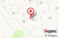 Схема проезда до компании Дикси в Васькино