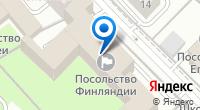 Компания Посольство Финляндии на карте